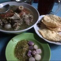 Photo taken at Sop Tegal by ibnu s. on 6/27/2012