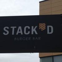Photo taken at Stack'd Burger Bar by Brooke on 7/8/2012
