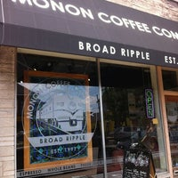 Photo taken at Monon Coffee Company by Jeff S. on 6/21/2012