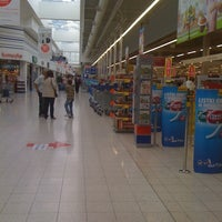 Photo taken at Tesco Gliwice by Anna C. on 5/6/2012