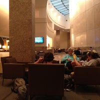 Photo taken at American Airlines Admirals Club DFW-A by Marc R. on 8/18/2012