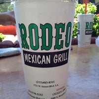 Photo taken at Rodeo Mexican Grill by Paul A. on 6/24/2012