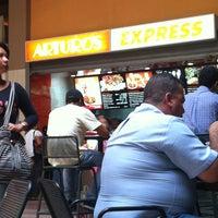 Photo taken at Feria de comida Buenaventura by Stevens F. on 5/22/2012