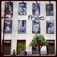 Photo taken at Fnac by Antonio G. on 8/8/2012