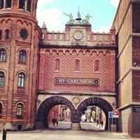 Photo taken at Carlsberg by Rachel S. on 6/5/2012