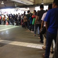 Photo taken at Yellow Line - Araneta Center-Cubao Station by R.C. R. on 4/23/2012