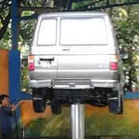 Photo taken at SPBU ciracas car wash by Sony Sonjaya &. on 5/6/2012