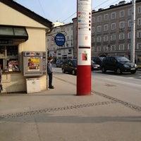 Photo taken at H Ferdinand-Hanusch-Platz by Marjolein v. on 3/3/2012