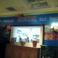 Photo taken at Blue Iguana Mexican Express by Karen B. on 7/12/2012