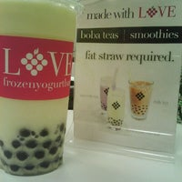 Photo taken at LOVE Frozen Yogurt Bar by E- C. on 1/31/2012
