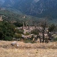 Photo taken at Temple of Apollo by Spyros K. on 8/16/2011