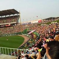 Photo taken at Incheon SK Happy Dream Park by Ji Ho K. on 6/2/2012