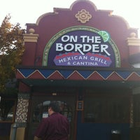 Photo taken at On The Border Mexican Grill & Cantina by Evgheny K. on 11/14/2011