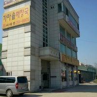 Photo taken at 가마솥해장국 사대문 by Ben K. on 9/24/2011