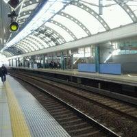 Photo taken at Keisei-Funabashi Station (KS22) by Yoshitaka I. on 1/28/2012