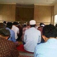 Photo taken at Masjid Al Hasanah by Hendro A. on 8/19/2011