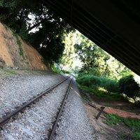 Photo taken at Rifle Range Road Railway Trackbed by gerard t. on 7/20/2011