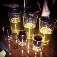Photo taken at Mom's Bar & Lounge by Lisa C. on 10/27/2011