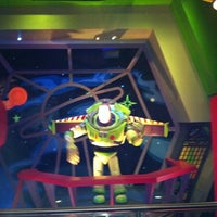 Photo taken at Buzz Lightyear's Space Ranger Spin by Drew M. on 5/11/2011