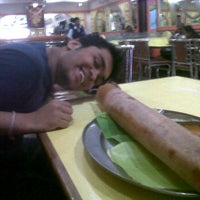 Photo taken at Sri Krishna Sagar Restaurant by Maulik T. on 3/11/2012
