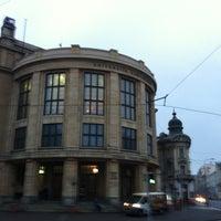 Photo taken at Právnická fakulta UK by Miso B. on 1/10/2011