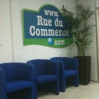 Photo taken at RueduCommerce.com by Estelle on 11/7/2011
