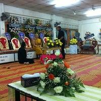 Photo taken at Wat Mueang Lang by SIRAPHOB C. on 3/3/2012