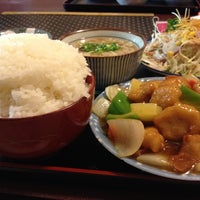 Photo taken at 大連飯店 大川店 by iwanamy i. on 6/29/2012