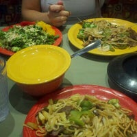 Photo taken at HuHot Mongolian Grill by Abby M. on 9/21/2011