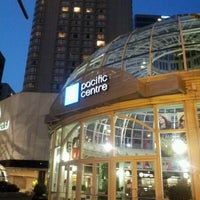 Photo taken at CF Pacific Centre by nicholita on 7/10/2012