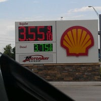 Photo taken at Shell by Robert K. on 8/24/2012