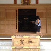 Photo taken at 上野山 福祥寺(須磨寺) by Ian K. on 4/29/2012