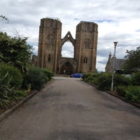 Photo taken at Elgin Cathedral by matthew s. on 7/21/2012