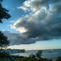Photo taken at Gaspee point by Amanda S. on 7/23/2012