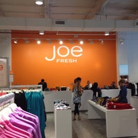 Photo taken at Joe Fresh by Bill B. on 8/25/2012