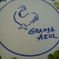 Photo taken at La Granja Azul by Javier S. on 1/7/2012