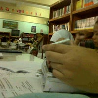 Photo taken at Perpustakaan SMPN 141 by Tyas K. on 11/17/2011