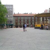 Photo taken at Plaza Mayor by Isabel C. on 7/18/2012