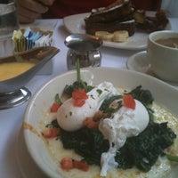 Photo taken at Mon Petit Café by Jocelyn C. on 6/24/2012