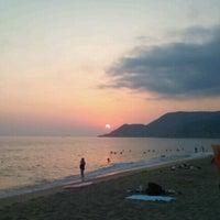 Foto scattata a Kleopatra Plajı da Ezgi Y. il 8/12/2012