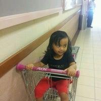 Photo taken at AEON Taman Maluri Shopping Centre by nona i. on 2/25/2012
