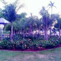 Photo taken at Parque Ecológico Maurilio Biagi by Mateus W. on 7/1/2012