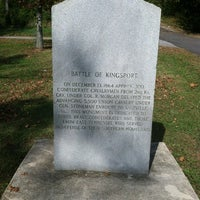 Photo taken at Battle Of Kingsport Marker by Gregarious B. on 10/18/2011