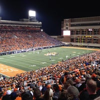 Photo taken at Boone Pickens Stadium by Dan G. on 11/6/2011