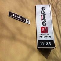 Photo taken at Gotsu Kyuho's Kitchen by Veljo H. on 4/28/2011