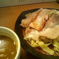 Photo taken at とろ肉つけ麺 魚とん by toepopon on 1/20/2012