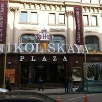 Снимок сделан в Nikolskaya Plaza пользователем Larisa C. 5/18/2012