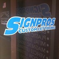 Photo taken at SIGNPROS HQ by Tim C. on 7/28/2011