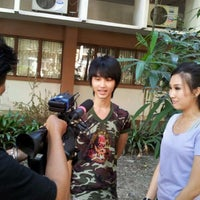 Photo taken at Department of Microbiology, Faculty of Science, Kasetsart University by KapanG K. on 11/30/2011