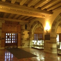 Photo taken at Deering Library by Sarah v. on 1/16/2012